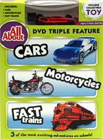 Kids Car, Motorcycle And Train DVD
